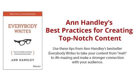 [Infographic] Ann Handley's Best Practices for Creating Top Notch Content. Expectation Marketing with Better Content